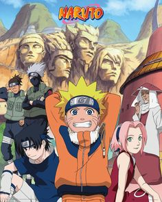 Naruto - Hokage - Official Mini Poster. Official Merchandise. FREE SHIPPING