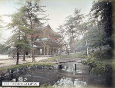 OLD PHOTOS of JAPAN: 知恩院三門 1890年代の京都