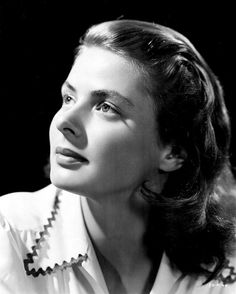 Ingrid Bergman, actress, non-conformist Old Hollywood Stars, Golden Age Of Hollywood, Vintage Hollywood, Hollywood Glamour, Classic Hollywood, Swedish Actresses, Classic Actresses, Beautiful Actresses, Actors & Actresses
