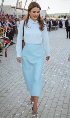 23 May 2017, Queen Rania at the IAA class of 2017 graduation ceremony.