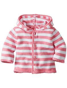 Hoodie Stripe Cardigan In Organic Cotton from #HannaAndersson.