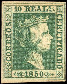 Año 1850 - Isabel II