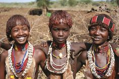 Locals of Omo Valley