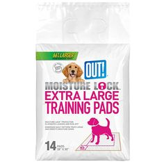 OUT! Pet Care 14 Count Moisture Lock Training Pads for Pets, X-Large ** You can get additional details at the image link. (This is an Amazon affiliate link)