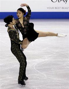 Maia & Alex Shubutani were the silver medal winners at Skate America 2014 (Ice Dance)