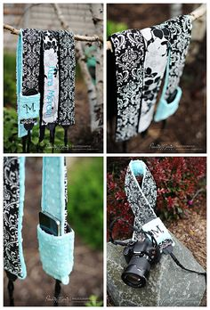 Gift certificate for a personalized camera strap cover sets or hipster camera strap set