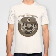 Mario Bros Fan Art T-shirt by Danvinci - $22.00