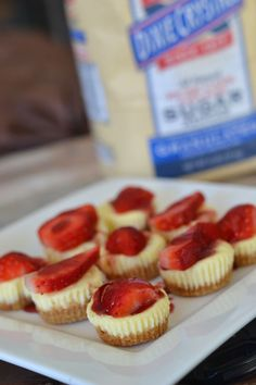 Strawberry Cheesecake Bites for #SundaySupper - Supper for a Steal