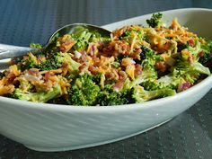 Cut the Wheat, Ditch the Sugar: Sweet & Tangy Broccoli Salad