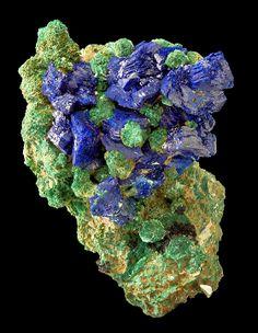 Azurite Malachite / Mineral Friends <3
