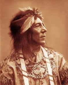 OJIBWA+INDIAN+CHIEF+OBTOSOWAY+VINTAGE+PHOTO+NATIVE+AMERICAN+OLD+WEST++#21406+