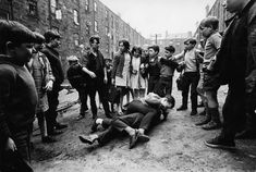 "'In the Gorbals, the tradition of the ""hard man"" still lingers among the very young'"