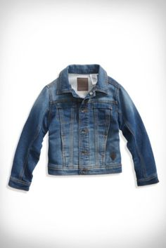 Little Boy Comfort Denim Jacket (2-7) | guess kids