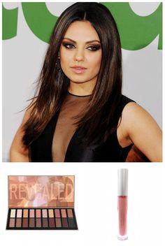 #HappyBirthday #MilaKunis consigue su look con la paleta Revealed 2 y el Lip Gloss Nude de #CoastalScents #Makeup visita > vorana.mx