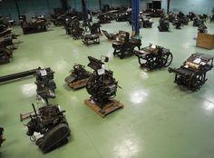 ARTEGRAF _ En 1996, Jean-Paul Maury acquiert la collection de machines d'imprimerie réunie par Serge Pozzoli. L'association Artegraf assure la remise en état de cette collection qui couvre 200 ans d'histoire de l'imprimerie.