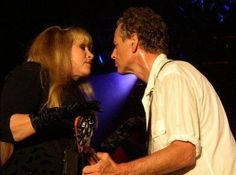 """golddustgypsy:    """"I know that when I'm 80 and hes 79 and I'm on my walker, I'll be swinging my walker at him"""" -Stevie Nicks"""