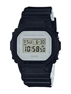 Casio G-Shock Classic Design Series Sqaure Black Watch DW5600LCU-1