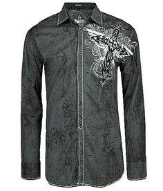 Roar Rectify Button Front Shirt