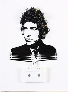 Magnificent Cassette Art by Erika Iris Simmons | Cuded BOB DYLAN