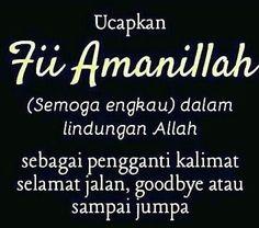 Fii amanillah Hijrah Islam, Islam Marriage, Doa Islam, Muslim Couple Quotes, Muslim Quotes, Religious Quotes, Pray Quotes, Words Quotes, Sayings