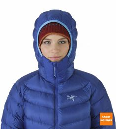 Cerium-SV-Hoody-W-Azzurro-Hood-Front-View