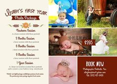 Purchase our Baby's 1st year plan before May 25th and receive a complimentary Maternity session <3