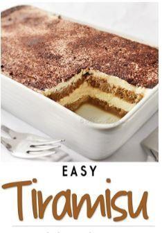 Tiramisu is a classic Italian no-bake dessert made with layers of ladyfingers and mascarpone custard cream (no raw eggs! Truly the best homemade tiramisu. No Bake Tiramisu Recipe, Tiramisu Recipe Without Eggs, Tiramisu Trifle, Homemade Tiramisu, Tiramisu Recipe With Cream Cheese, Simple Tiramisu Recipe, How To Make Tiramisu, Top Recipes, Puddings