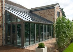 Orangery, Conservatory or Glass Extension differences explained Orangery Conservatory, Lean To Conservatory, Conservatory Extension, Conservatory Ideas, Pergola, Glass Extension, Glass Room, Greenhouse Plans, Marquise