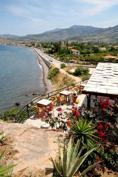 travel greece lesvos island petra