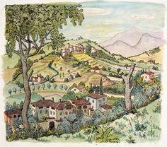 GOSEE ::: GALERIE LUDORFF : Hermann Hesse - Aquarelle des Dichters