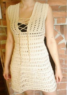 Schema come fare vestito a uncinetto di Jennifer Aniston 2