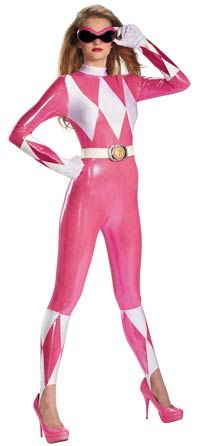 2013 Power Ranger costumes for adults, men and women. #Halloween #costumes