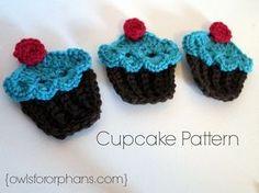 Free Crochet Cupcake Pattern