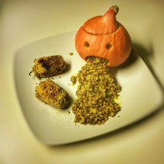 Potimarron d'Halloween aux saveurs indiennes