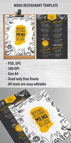 Cafe and Restaurant Template #design Download: http://graphicriver.net/item/cafe-and-restaurant-template/11896013?ref=ksioks