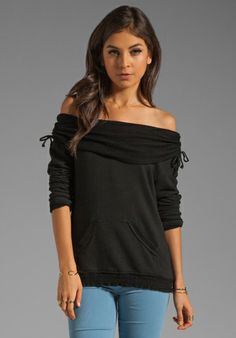GYPSY 05 Elizabeth Off Shoulder Top w/ Embroidery in Black at Revolve Clothing - Free Shipping!
