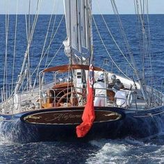 Go Sailing, Get Inspired: Photo Yacht Design, Boat Design, Classic Sailing, Classic Yachts, Sailboat Yacht, Yacht Boat, Cruise Italy, Italy Vacation, Wood Boats