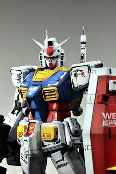 MG 1/100 RX-78-2 Gundam - Customized Build