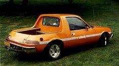 AMC Pacer pick-up concept car Pickup Car, Pickup Trucks, Jeep, Amc Gremlin, American Motors, Us Cars, Small Cars, Car Car, Custom Cars