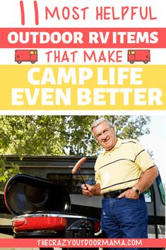 Check out the best RV products and ideas to live an even more relaxed camping life! This RV camping gear makes things way easier! Camping Packing, Diy Camping, Camping Checklist, Camping Essentials, Camping With Kids, Camping Life, Camping Gear, Camping Hacks, Camping Outdoors