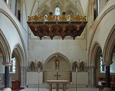 portsmouth cathedral interior