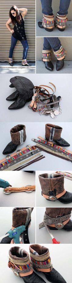 Customiser ses bottes, bottines pour cet automne   Sakarton
