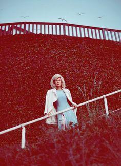 Koray Birand Snaps Britt Maren For Elle Russia September2013