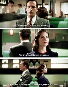 Jarvis and Peggy