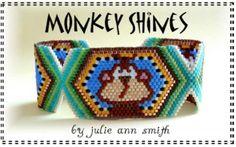 JULIE ANN SMITH DESIGNS *Monkey Shines Bracelet Pattern*