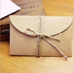 Kraft Mini Envelopes, Mini Gift Paper Bags for Party Fa. Kraft Mini Envelopes, Mini Gift Paper Bags for Party Favor cards Wedding In… NEW! Kraft Mini Envelopes, Mini Gift Paper Bags for Party Favor cards Wedding Invitation Cards Craft rope) - Envelope Papel Kraft, Mini Envelopes, Gift Envelope, Glassine Envelopes, Brown Envelopes, Paper Envelopes, Mini Kraft, Korean Stationery, Wedding Invitation Envelopes