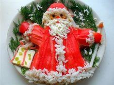 Украшение блюд на Новый год / Меню недели
