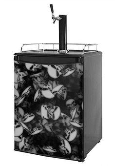 Kegerator Skin - Skulls Confetti White (fits medium sized dorm fridge and kegerators) wallthat http://www.amazon.com/dp/B00796HLGE/ref=cm_sw_r_pi_dp_st0ivb19WBVFN