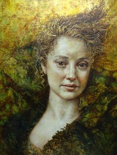 'In Her Dreams She Flies'...Artwork by Pam Hawkes. -Penny-