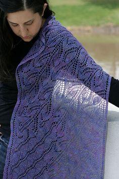 Ravelry: Nefertiti Wrap pattern by Miriam L. Felton